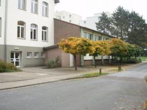 Sporthalle der Schule am Lönkert (Blick: Schulstr., Ecke Siegenegge)
